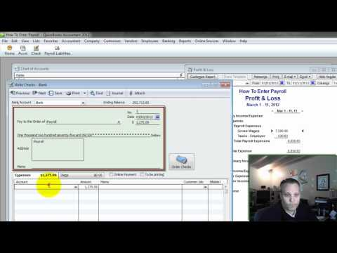 How To Enter Payroll Into QuickBooks - Summary