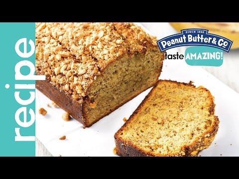 Honey Peanut Butter Banana Bread Recipe