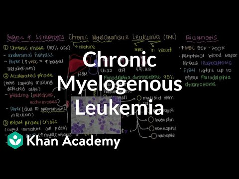 What is chronic myelogenous leukemia? | Hematologic System Diseases | NCLEX-RN | Khan Academy