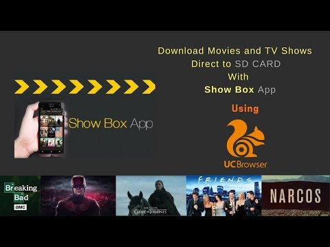 Show Box : Download Movies & TV Shows directly to SD Card from Show Box  App