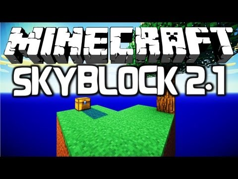 SkyBlock 2 1 #1 [Map] - Let's Play Minecraft - PlayItHub