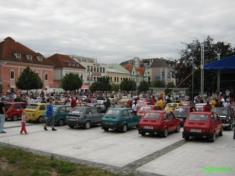 Zvolen 2018 - International fiat 126&old fiat meeting invitation