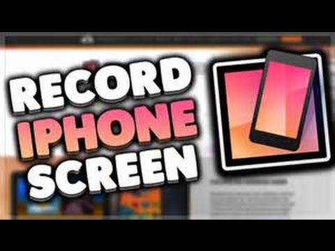How To Record Your iPhone Screen (IOS 10.2.1)