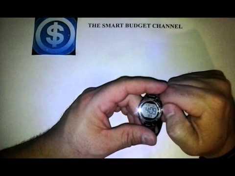 Armitron women's sports Chronograph black strap watch review