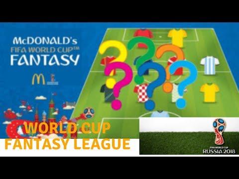 Fifa World Cup Fantasy Football League - Tips & Strategies - Join My League !!