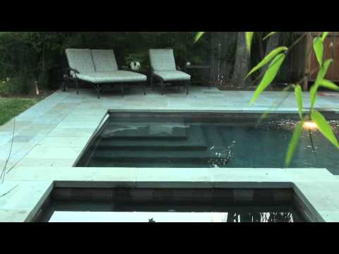 Small Swimming Pool with Automatic Cover