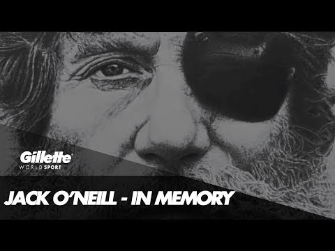 Remembering Surfing Legend Jack O'Neill | Gillette World Sport