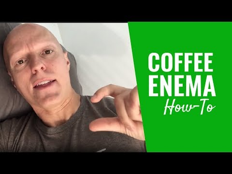 How to Do a Coffee Enema (Behind-the-Scenes in My Bathroom)
