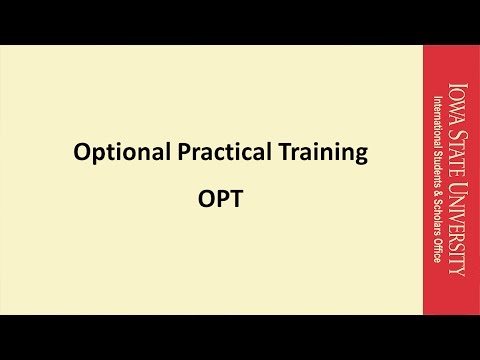 Video 5 - Sending OPT Applications to USCIS