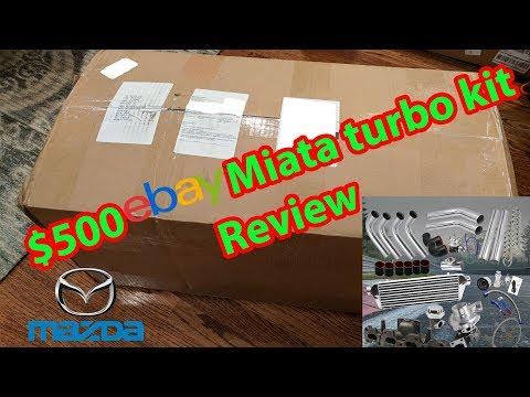 $500 eBay Miata Turbo Kit Review
