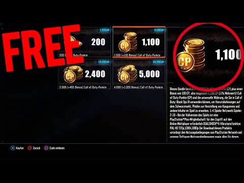 DID YOU KNOW YOU CAN GET FREE COD POINTS...!