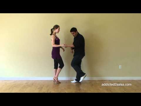 Basic Salsa Step On2 Timing for Beginners (Short Version)