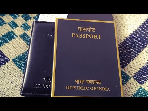 Passport cover from passport office by TATA international