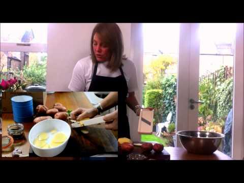 Potato and savoy cabbage gratin by Francesca