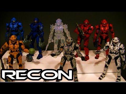 McFarlane Halo 3 RECON ARMOR Comparative Figure Review