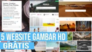 Download 5 Website Gambar Hd Gratis Cocok Buat Blogger Dan Youtuber