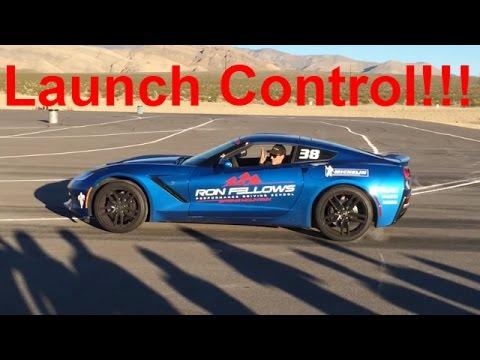 Launch Control Demo!!! - C7 Corvette Auto & Manual