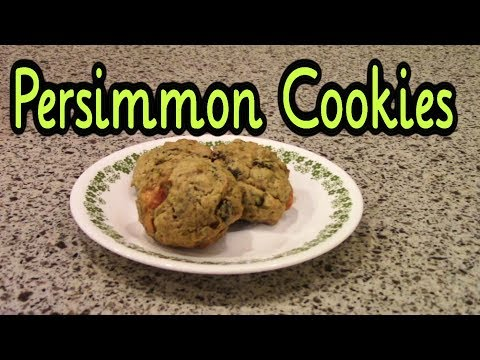 Persimmon Cookies (Cookie Week!)