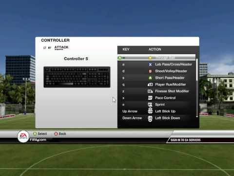 How Change Controls In Fifa 2012