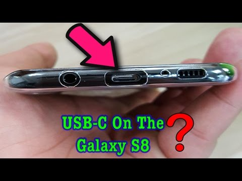 Galaxy S8 & S8+ Hands On Video - USB C?