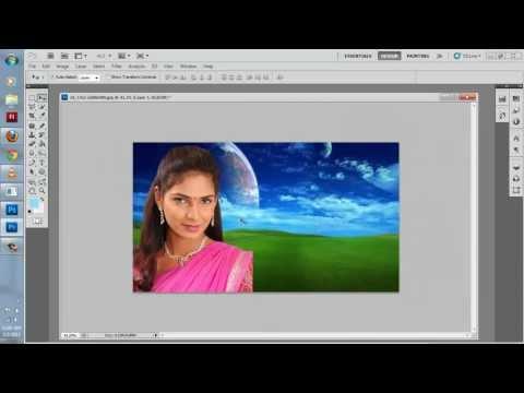 second tutorial of photoshop in gujarati