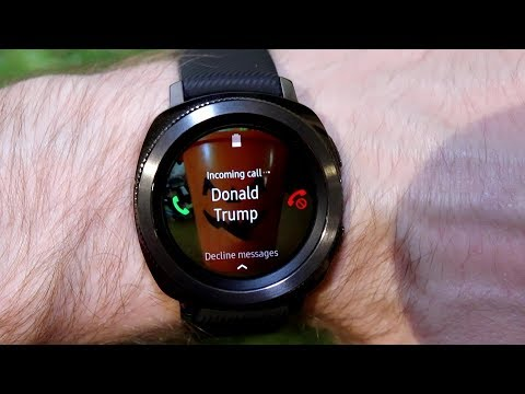 Samsung Gear Sport - All about Receiving Phone Calls and rejecting them with Messages