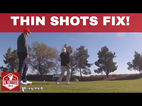 How to fix Thin Shots, The Punch Shot Connection with Tony Luczak, PGA