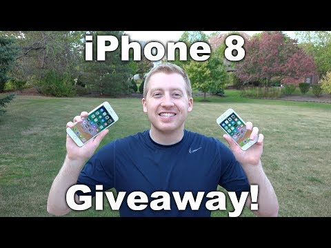 Apple iPhone 8 Plus or iPhone 8 Giveaway! FREE Chance to Win iPhone!