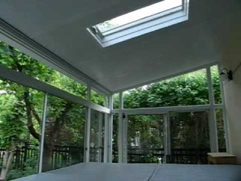 Porch Enclosure by Varga Windows Toronto Ontario Canada