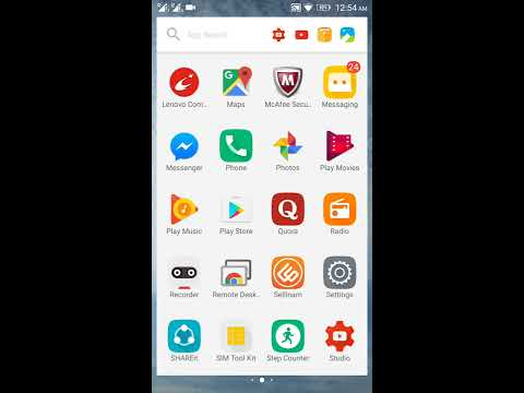 How to set finger print in lenovo k4 note | How to lock apps with finger print
