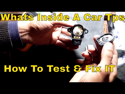 Whats Inside A Throttle Positioning Sensor / How To Test and fix Them