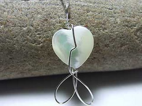 Handmade Mother of Pearl Jewellery from Silver Wire Designs