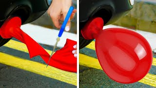 40+ AWESOME BALLOON hacks to help you to deal with any problem