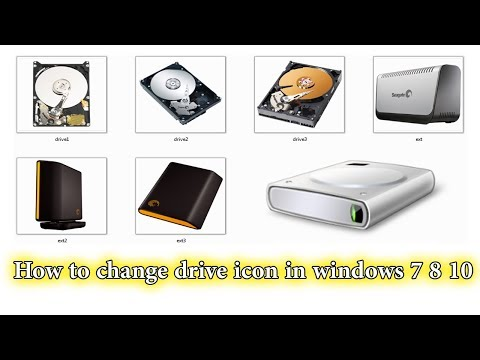 How to change drive icon in windows 7 8 10    2017