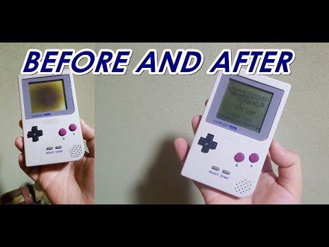 HOW I CLEAN my GAMEBOY