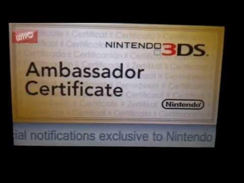 Nintendo 3ds ambassador programme: How to guide, 20 free NES/GBA games.