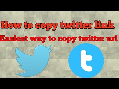 How to copy twitter link || easiest way to find twitter url