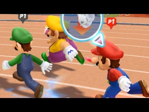 Mario and Sonic at the London 2012 Olympic Games - 4x100m Relay (All Characters)