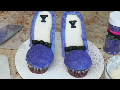 HIGH HEELS STILETTO cupcakes