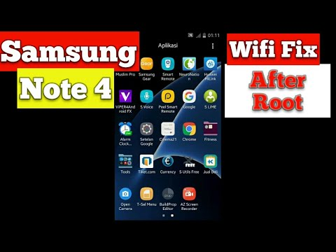 How to wifi fix note 4 root