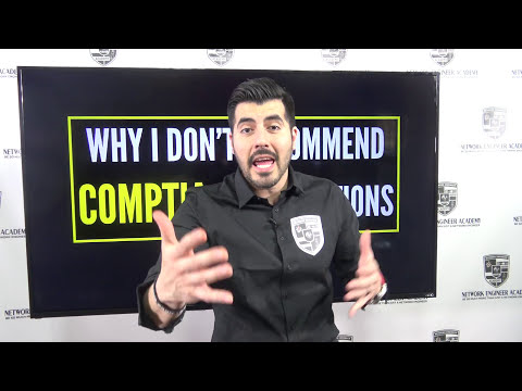 Find out why I DO NOT recommend CompTIA Certifications.