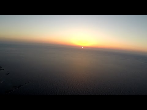 VmAirborne - Sky high paramotor sunset flight over Falassarna beach, Crete