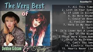 The Very Best of Tiffany & Debbie Gibson   Non-Stop Playlist
