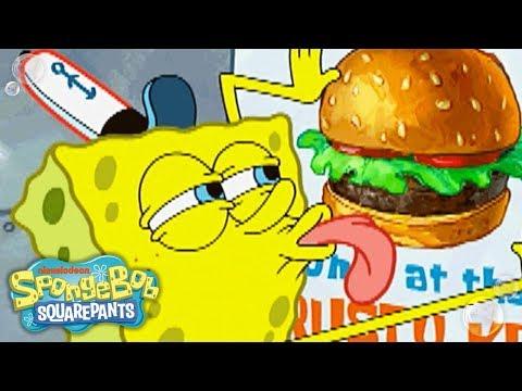 SpongeBob SquarePants | 'I Love Krabby Patties' Ultimate Love Song Music Video | Nick