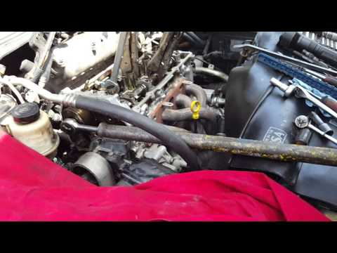 2006 Nissan Altima 2.5 cylinder head removal notes