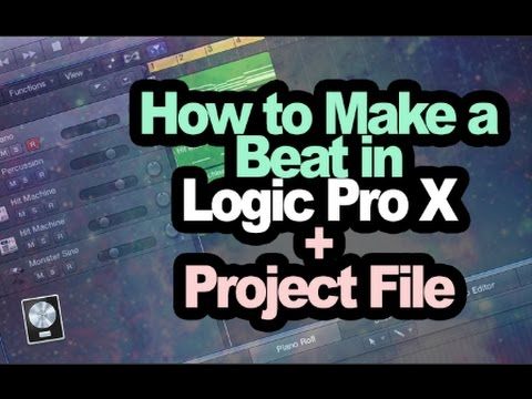 How to Make a Beat in Logic Pro X