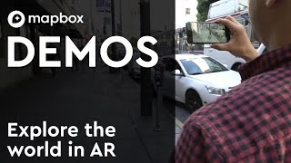 Explore the world in augmented reality