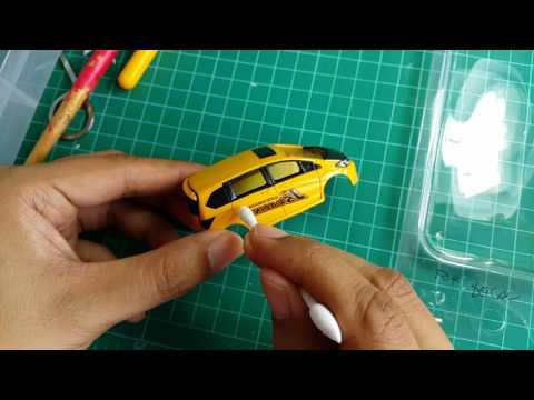 How To Apply Waterslide to Diecast Car