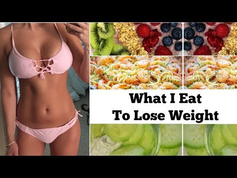 What i eat in a day | healthy & quick meals to lose weight | BeeisforBeeauty