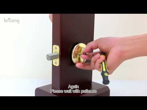 How to remove the currently existing deadbolt   V1
